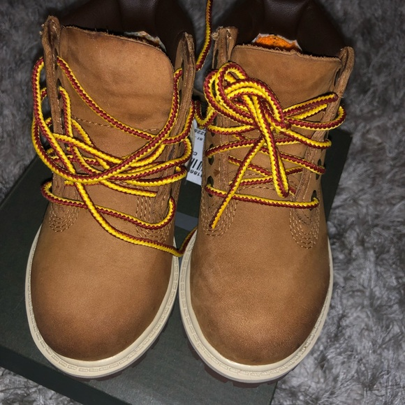 Timberland Shoes   Baby Boots Wheat 6